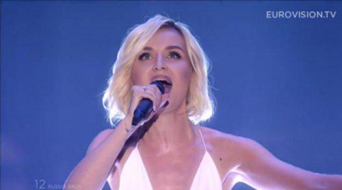 Eurovisión 2015: Actuación de Rusia, Polina Gagarina - A Million Voices