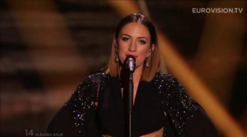 Eurovisión 2015: Actuación de Albania, Elhaida Dani - I'm Alive