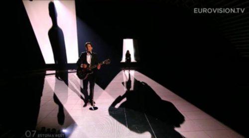 Eurovisión 2015: Actuación de Estonia, Elina Born & Stig Rästa - Goodbye To Yesterday