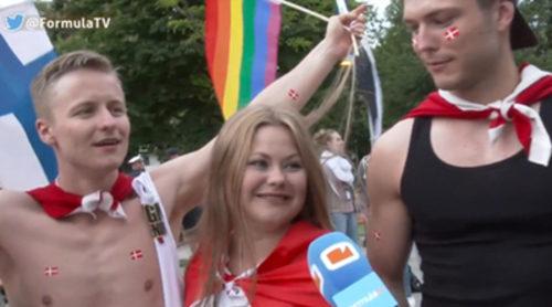 La primera semifinal de Eurovisión 2015: los llantos de la rusa y la locura de la prensa y de los eurofans