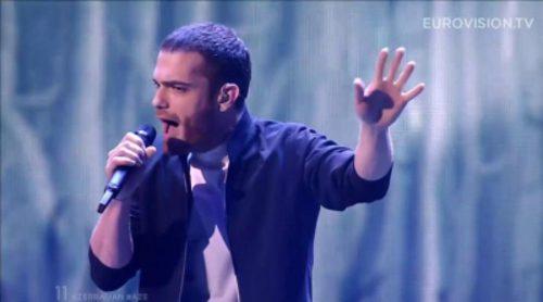 Eurovisión 2015: Actuación de Azerbaiján, Elnur Huseynov - Hour Of The Wolf