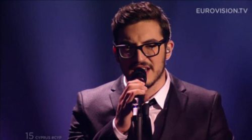 Eurovisión 2015: Actuación de Chipre, John Karayiannis - One Thing I Should Have Done