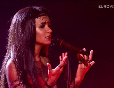 Eurovisión 2015: Actuación de Letonia, Aminata - Love Injected