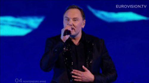 Eurovisión 2015: Actuación de Montenegro, Knez - Adio