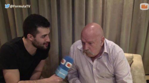 """José María Íñigo: """"Me es exactamente igual el color del vestido de Edurne, Eurovisión es un festival de canciones"""""""