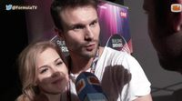 """Monika Linkyte y Vaidas Baumila: """"Nos encanta la temática del vídeo de Edurne. Somos fans de """"El señor de los anillos"""""""