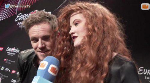 """Morland & Debrah Scarlett (Noruega) afirman que """"Amanecer"""" de Edurne tiene un estilo parecido al de Madonna"""