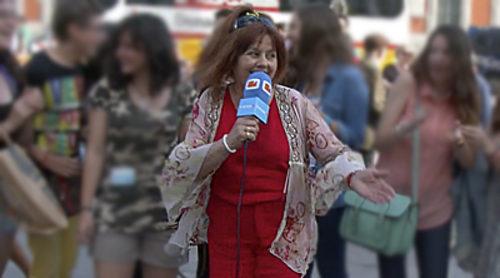Amalia Valero en concierto: Los grandes éxitos de Eurovisión desde la Puerta del Sol