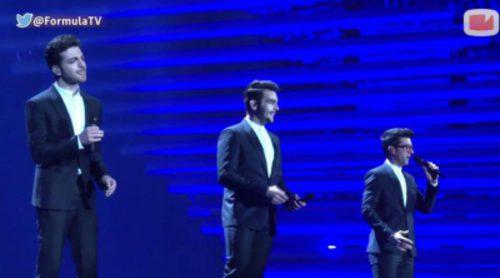 """Ensayo de Italia en Eurovisión 2015: Il Volo con """"Grande Amore"""" y la ovación del público"""