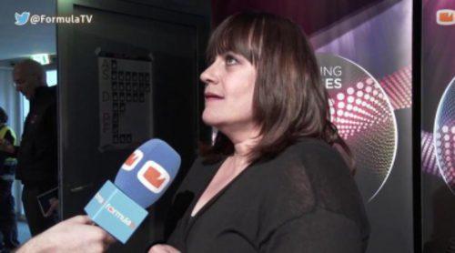 """Lisa Angell (Francia): """"No sé si el inglés es la mejor opción para llevar un tema a Eurovisión"""""""