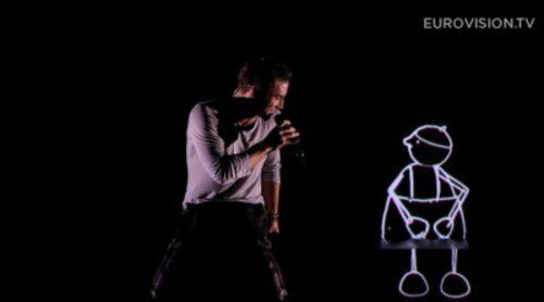 Ganador del Festival de Eurovisión 2015: Suecia, Mans Zelmerlow - Heroes