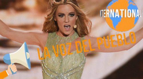 La Voz del Pueblo de la final de 'Eurovisión 2015': ¿Cómo se vivió en la sala de prensa? ¿Merecía Edurne ese puesto?