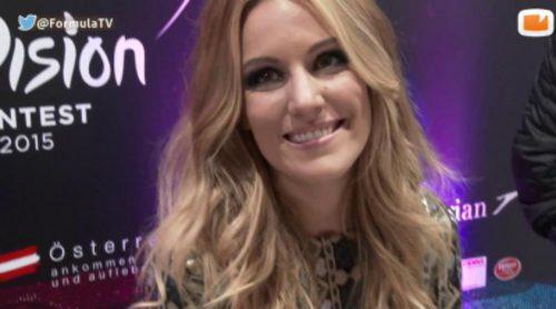 "Edurne: ""Creo que he callado bocas en 'Eurovisión 2015'. Los que no confiaban en mí, han acabado creyendo"""