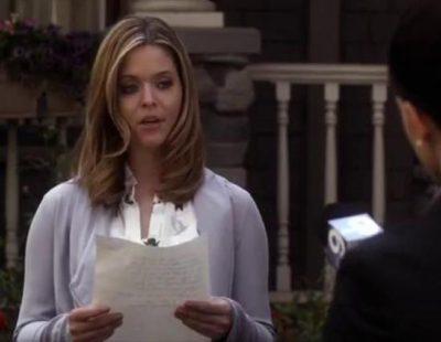 Alison habla ante la prensa sobre sus amigas en la nueva promo de la sexta temporada de 'Pretty Little Liars'