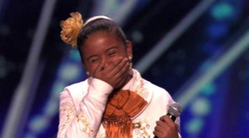Una niña mariachi emociona al jurado de America's Got Talent