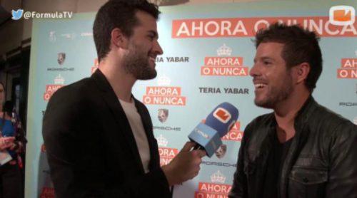 """Pablo López, a Risto: """"Tenía razón cuando me dijo en 'OT' que iba a acabar en hoteles, pero estoy durmiendo de gira, no tocando"""""""