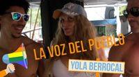 La Voz del Pueblo con Yola Berrocal en el Orgullo Gay: El desmadre de la carroza de 'Gran Hermano' con Olvido Hormigos y Amor