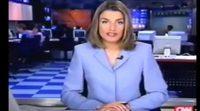 Letizia Ortiz, presentadora de CNN+