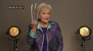 Betty White, Larry King y otros famosos se presentan al casting de 'Lobezno'