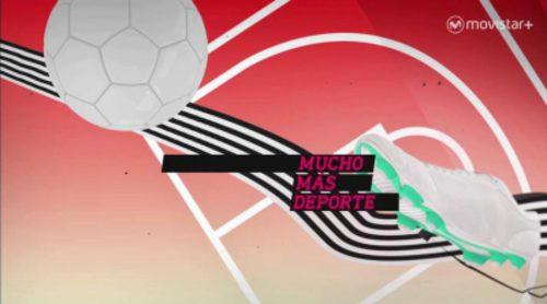 Cabecera de 'Mucho más deporte', el nuevo informativo de deportes de Canal+