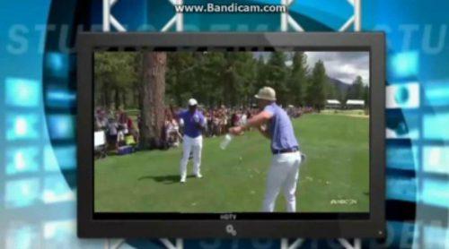 Carlton, de 'El príncipe de Bel-Air', hace su mítico baile con Justin Timberlake en un campo de golf