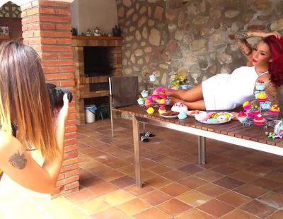 Paula González ('GH 15') se desnuda en una sesión de fotos