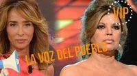 La Voz del Pueblo VIP: ¿Los famosos prefieren a María Patiño o a Terelu Campos como presentadora de 'Sálvame deluxe'?