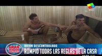 Brian expulsado de la edición argentina de 'Gran Hermano' por agresión