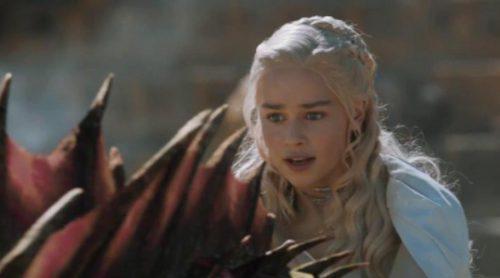 Así se hizo el vuelo de Daenerys Targaryen a lomos de su dragón en 'Juego de tronos'