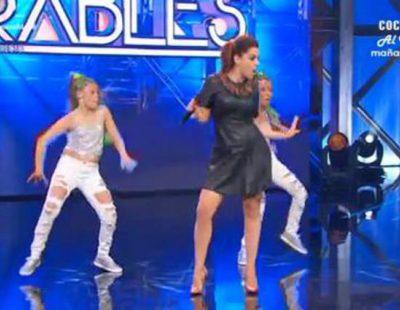 Ruth Lorenzo se postula como la sexta componente de las Spice Girls en 'Insuperables'