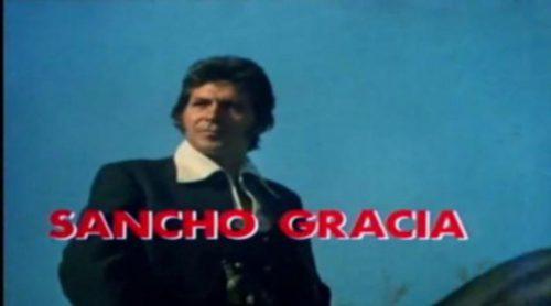 Cabecera de 'Curro Jiménez', la mítica serie de Sancho Gracia