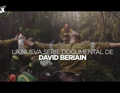 Discovery MAX ya promociona el próximo estreno de 'La vida en llamas', la nueva serie de David Beriain