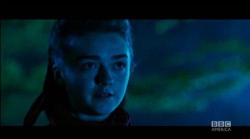 Así es el personaje de Maisie Williams en 'Doctor Who'