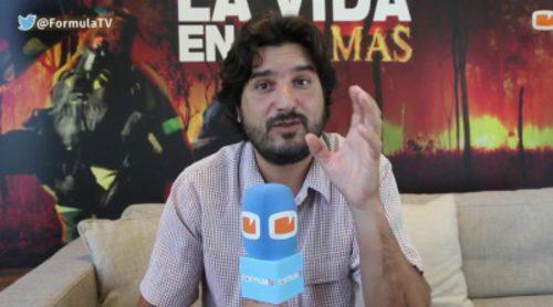 """Sergio Caro ('La vida en llamas'): """"Rodar los incendios con la cámara ha sido un verdadero infierno"""""""