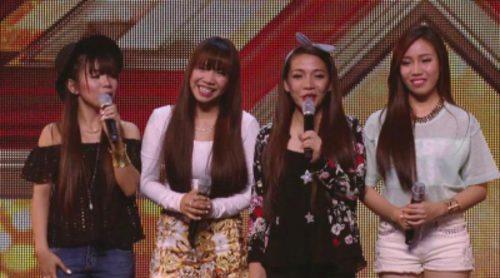 Impresionante: 4th Power, cuatro hermanas filipinas que viajan a Londres para participar en 'The X Factor'
