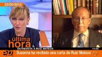 Complicada entrevista de Susanna Griso a Ruíz Mateos