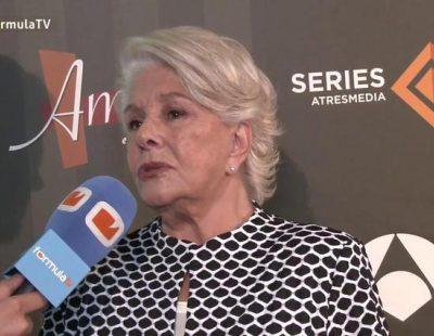 """Lola Herrera: """"Se iba a recuperar 'Un paso adelante' cuando empezó la crisis y yo iba a participar en ella"""""""