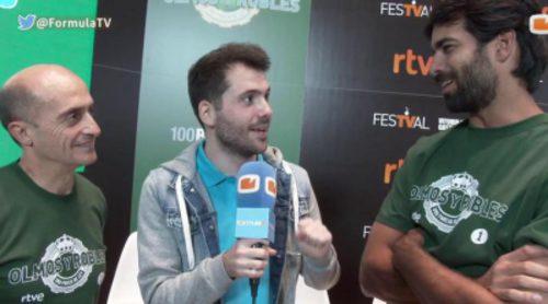 La situación más vergonzosa de Pepe Viyuela y Rubén Cortada en el rodaje de 'Olmos y Robles'