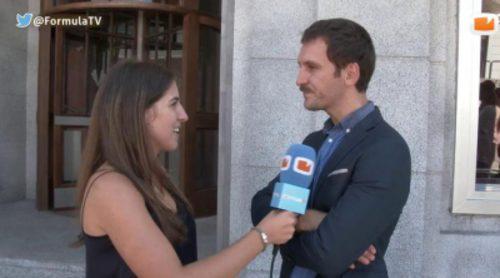 """Raúl Arévalo: """"El rodaje en 'Velvet' es muy cómodo porque ya tienen cogido el ritmo y hay buen ambiente"""""""