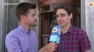 """Llorenç González ('Velvet'): """"Lo más complicado de grabar es concentrarse en la escena con el ruido propio de un rodaje"""""""