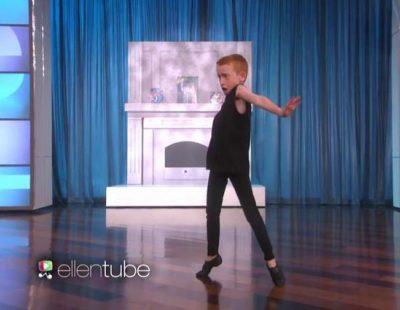 El niño de 7 años que imita a Taylor Swift baila en 'Ellen'