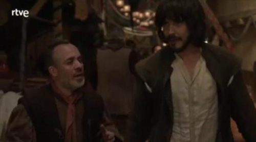 'Águila Roja' se convierte en actor en su propia serie
