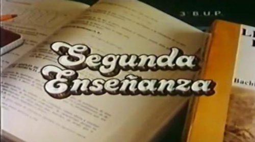Recordamos la cabecera de 'Segunda enseñanza', otra de las ficciones escritas por Ana Diosdado