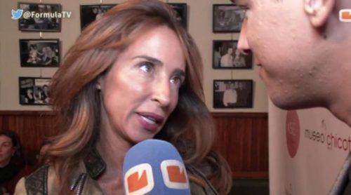 """María Patiño: """"No concursaría en un reality"""""""