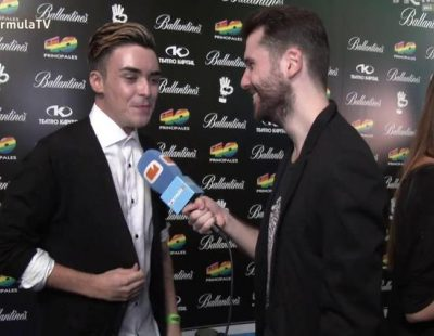 """Mario Jefferson: """"Me da respeto ir a Eurovisión por si la gente me odia por quedar en mala posición"""""""