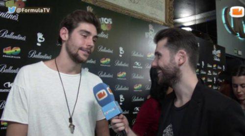 """Álvaro Soler: """"No digo 'no' a Eurovisión, pero ahora mismo tengo otros planes"""""""