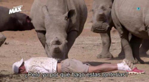 """Frank Cuesta vuelve a jugársela en 'Wild Frank': """"¿Pero yo por qué hago estas tonterías?"""""""