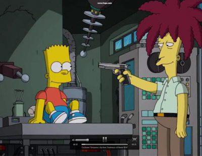 El actor secundario Bob consigue, por fin, matar a Bart Simpson