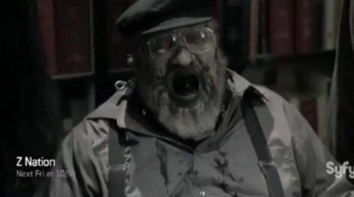 """""""Winter is Rotting"""", el George R.R. Martin más autoparódico en 'Z Nation'"""
