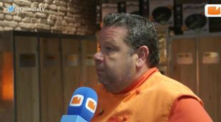 """Alberto Chicote ('Top Chef'): """"La expulsión de Montse nos ha dejado estupefactos, era un referente para todos nosotros"""""""